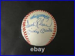(11) 500 Home Run Club Multi-Signed Baseball Autograph Auto PSA/DNA AB13068