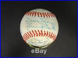 17 MLB Hall of Famers Multi-Signed Baseball Autograph Auto PSA/DNA Y04694