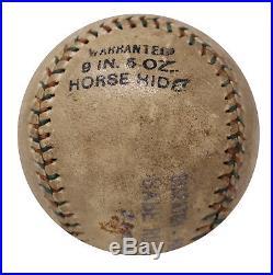 1926 Babe Ruth Single Signed Autographed American League Baseball PSA DNA COA