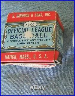 1927 Babe Ruth Single Signed Autographed Baseball Original Harwood Box PSA/DNA