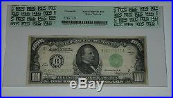 1934 $1000 Bill US Federal Reserve Note RARE Steve Wynn Autograph PCGS & PSA/DNA