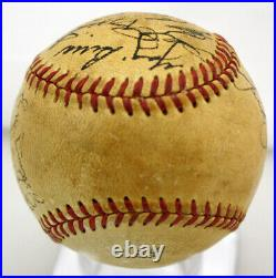 1951 Yankees Team Signed Autographed Baseball Mickey Mantle Rare Psa/dna V03700