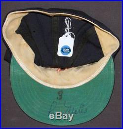 1959 Roger Maris Autographed Signed Kansas City A's Baseball Hat Cap PSA DNA