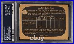 1966 Topps Hockey Bobby Orr ROOKIE RC PSA/DNA 10 AUTO #35 PSA AUTH