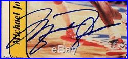 1986 Michael Jordan Fleer Sticker RC Rookie Auto #8 PSA 9 Mint Pop 4 with PSA/DNA