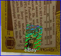1986 TOPPS JERRY RICE AUTO SIGNED PSA DNA GEM MINT 10 AUTOGRAPH With RICE HOLOGRAM