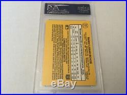 1987 Donruss #361 Barry Bonds RC PSA/DNA Autographed Say No To Drugs Vintage