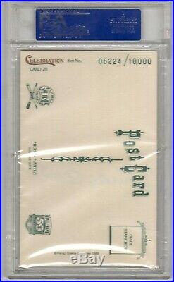 1989 Perez Steele #28 Mickey Mantle PSA DNA 10 Gem Mint Autograph