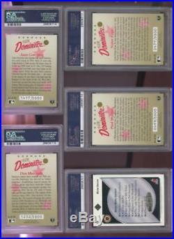 1992-93 Upper Deck Heroes Wayne Gretzky AUTO SIGNED Autograph Card PSA 8 PSA/DNA
