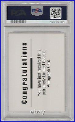 1992 Classic Draft Pick #/500 Shaquille O'neal Auto Rc Psa 10 Hof Shaq
