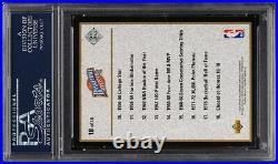 1992 Upper Deck Heroes Wilt Chamberlain PSA/DNA AUTO #18 PSA Auth
