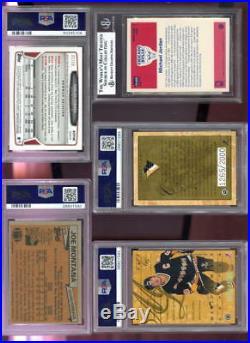 1993-94 Leaf Mario Lemieux 1265/2000 AUTO SIGNED Autograph Card PSA 10 PSA/DNA