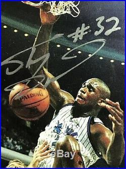 1993 Shaq Auto Shaquille O'Neal Autograph Authentic PSA /DNA /993 INSERT HOF