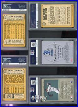 1996-97 Score Board Kobe Bryant ROOKIE AUTO Autograph Graded Card PSA 8 PSA/DNA