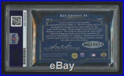 1996 SPX Ken Griffey Jr HOF Autographed PSA DNA 9 Mint & UDA Authentic GOAT