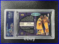 1997 Upper Deck Spx Kobe Bryant Signed Rookie Card Rc Psa Auto 10 Buybacks Uda