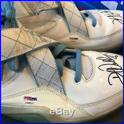 2000 Deron Williams Utah Jazz Game Used & Autographed Sneakers Shoes PSA DNA