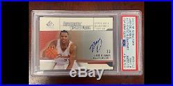 2003 SP Authentic Signatures LeBron James ROOKIE RC PSA/DNA 10 AUTO PSA 9 MINT