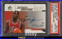 2003 SP Signature Edition Michael Jordan AUTO #AS-MJ PSA 10 GEM MINT
