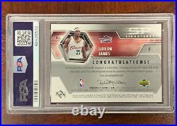 2004 SP Authentic SP Signatures LeBron James PSA/DNA 10 AUTO PSA 10 GEM