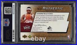 2004 SP Signature Gold LeBron James PSA/DNA 10 AUTO /10 PSA AUTH
