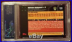 2007 Fleer Prospects #NN-1 Kevin Durant RC Auto Autograph PSA/DNA Certified