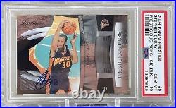 2009 Panini Prestige Stephen Curry /50 BLACK #6 Auto RC PSA 10 Gem Mint Pop 1