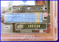 2011 Fleer Retro Michael Jordan Precious Metal Gems PMG PM-1 Ruby /150 PSA8