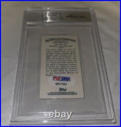 2011 Topps Allen & Ginter Mini Manny Pacquiao AUTOGRAPH ROOKIE BGS PSA/DNA