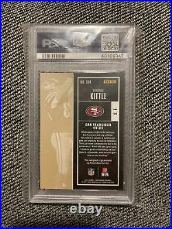 2017 Contenders Rookie Ticket George Kittle Autograph #164 PSA 10