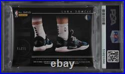 2018 Panini Noir Sneaker Spotlight Luka Doncic RC PSA/DNA 10 AUTO /99 PSA Auth