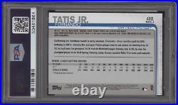2019 Topps #410 Fernando Tatis Jr. RC Auto Autograph PSA/DNA Authentic