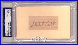 25 500 HR Signed Baseball Cards PSA/DNA BABE RUTH FOXX OTT MANTLE WILLIAMS AROD