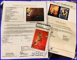 97-98 Kobe Bryant PSA/DNA JSA GAI Precious Metal Gem PMG Signed AUTO Autograph