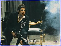 Al Pacino Authentic Signed 11x14 Scarface Photo Big Gun PSA/DNA ITP Autograph