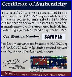 Al Pacino Autographed 11x14 Scarface Photo Tony Montana Chair Sitting PSA/DNA
