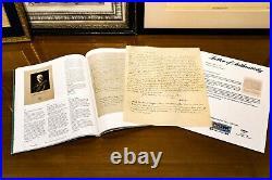 Albert Einstein ALS Autograph Divorce Letter to Mileva COA(PSA/DNA) Sothebys RR