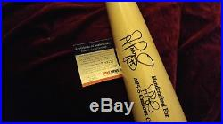 Albert Pujols Autographed AP5-S Game Model Bat PSA/DNA COA Bold Signature