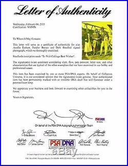 Amelia Earhart, Pancho Barnes, Debi Stamford Signed 8x10 Photo PSA/DNA Authentic