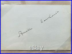 Amelia Earhart Signature / Autograph Psa/dna Authentic