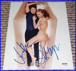 Anna Paquin & Stephen Moyer Autographed Signed 8x10 Photo True Blood PSA/DNA