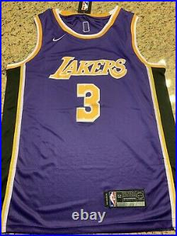 Anthony Davis Los Angeles Lakers Autograph Signed Jersey! Rare! PSA/DNA AG79782