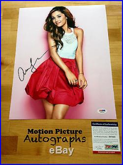 Ariana Grande Signed 11x14 Photo Psa Dna Coa Autograph
