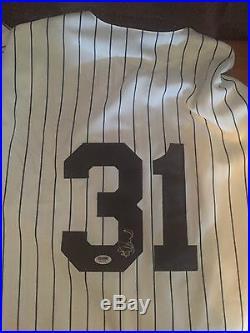 Autographed Ichiro Suzuki Yankees Home Jersey Signed Auto PSA/DNA COA Free Ship