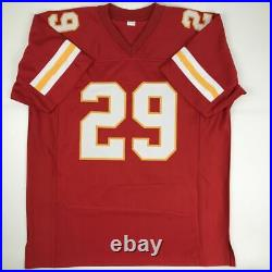 Autographed/Signed ERIC BERRY Kansas City Red Football Jersey PSA/DNA COA Auto