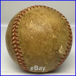 BABE RUTH & LOU GEHRIG Dual Signed Baseball Autographed AUTO PSA/DNA LOA HOF