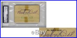 Babe Ruth Autograph Signed Signature - Slabbed by PSA/DNA