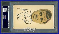 Babe Ruth Autographed 3x5 Index Card Sincerely Auto Grade 9 PSA/DNA 84130490
