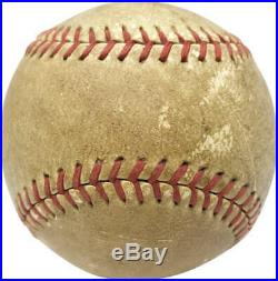Babe Ruth & Lou Gehrig Signed Autographed Game Used OAL Baseball PSA/DNA