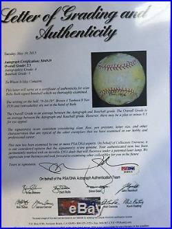 Babe Ruth PSA DNA Auto Autograph Signed Baseball NY Yankees